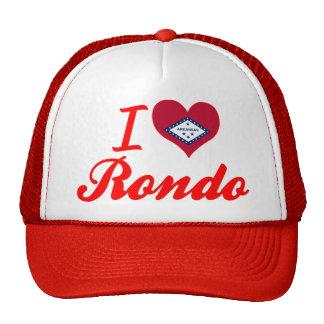 Amo el Rondo Arkansas Gorro De Camionero