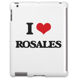 Amo el Rosales Funda Para iPad
