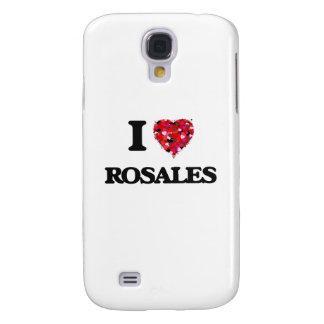 Amo el Rosales Funda Para Galaxy S4