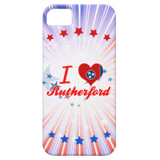 Amo el Rutherford, Tennessee iPhone 5 Case-Mate Coberturas