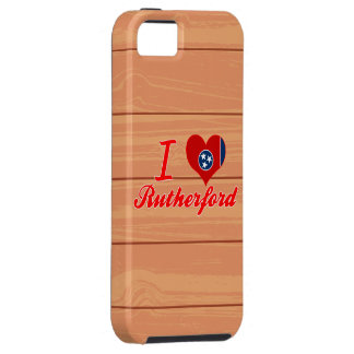Amo el Rutherford, Tennessee iPhone 5 Case-Mate Carcasa