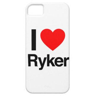amo el ryker iPhone 5 carcasas