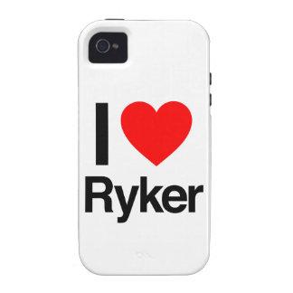 amo el ryker iPhone 4/4S carcasas