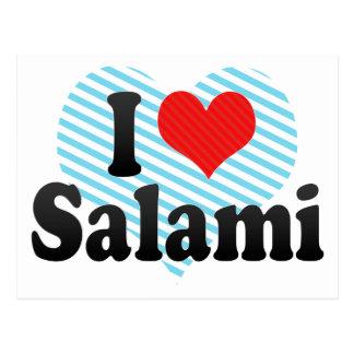 Amo el salami postales