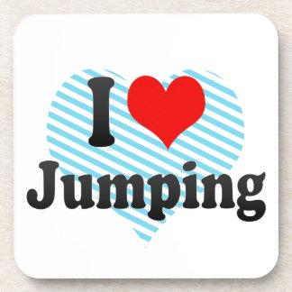 Amo el saltar posavaso