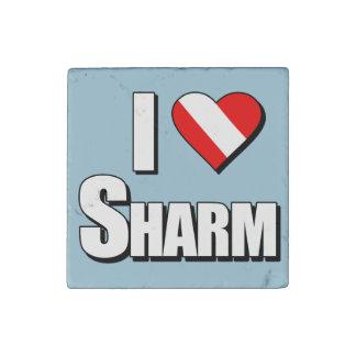 Amo el salto de Sharm Imán De Piedra