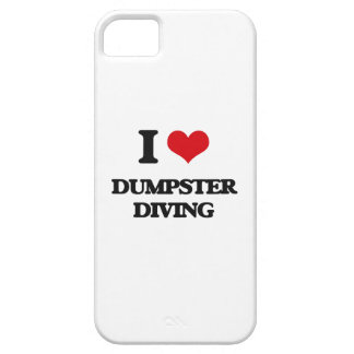 Amo el salto del contenedor iPhone 5 funda