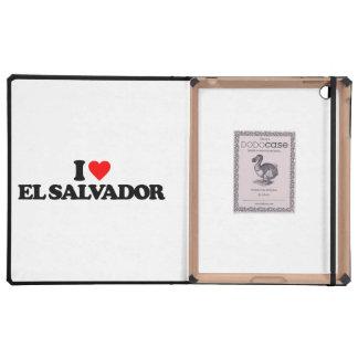 AMO EL SALVADOR iPad CÁRCASAS