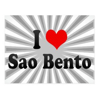 Amo el sao Bento, el Brasil Postal