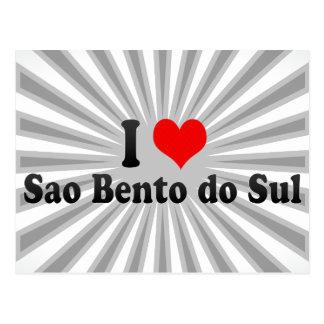 Amo el sao Bento hago Sul, el Brasil Postales