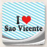 Amo el sao Vicente, el Brasil Posavaso