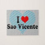 Amo el sao Vicente, el Brasil Puzzles Con Fotos