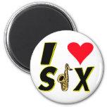 Amo el saxofón iman