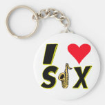 Amo el saxofón llavero