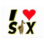 Amo el saxofón postal