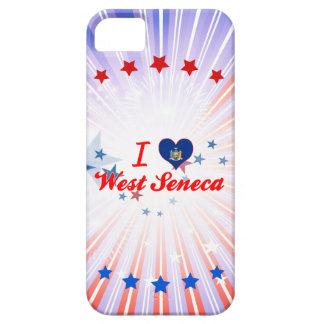 Amo el Seneca del oeste, Nueva York Funda Para iPhone 5 Barely There