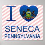 Amo el Seneca, PA Posters