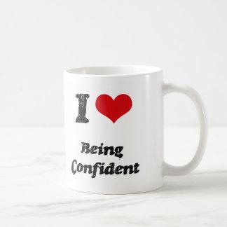Amo el sentirme confiado taza