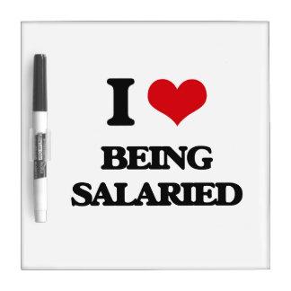Amo el ser a sueldo pizarra