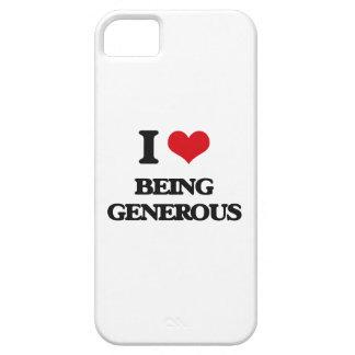 Amo el ser abundante iPhone 5 cárcasa