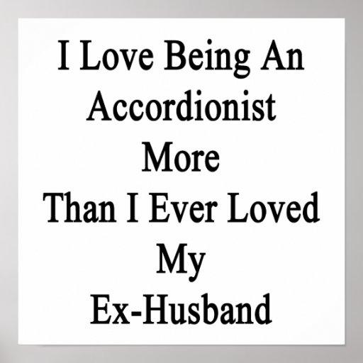 Amo el ser acordeonista más que amor de I nunca Poster