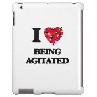 Amo el ser Agitated Funda Para iPad