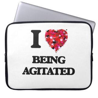 Amo el ser Agitated Funda Portátil