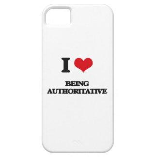 Amo el ser autoritario iPhone 5 carcasas