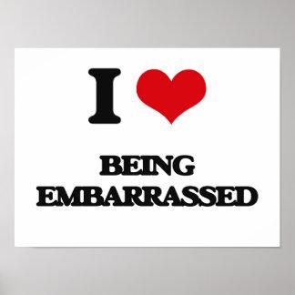 Amo el ser avergonzado poster