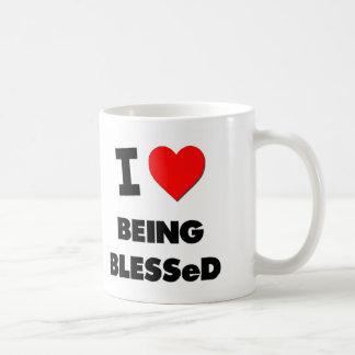 Amo el ser bendecido taza