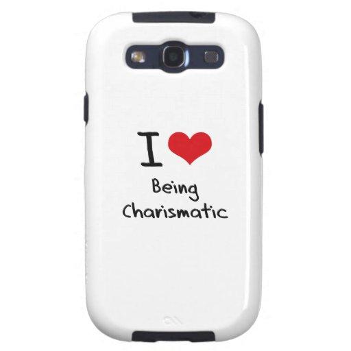 Amo el ser carismático galaxy s3 carcasas