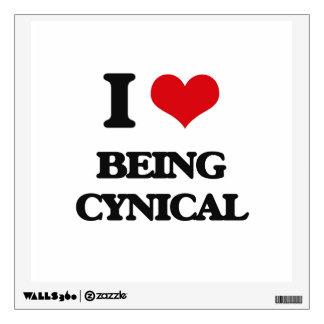 Amo el ser cínico