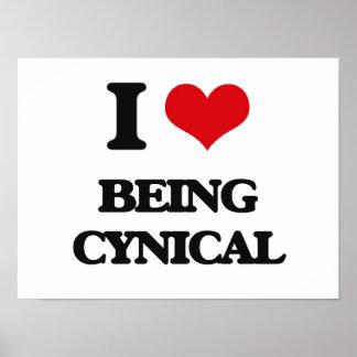 Amo el ser cínico poster