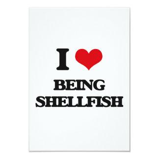 Amo el ser crustáceos comunicados personalizados