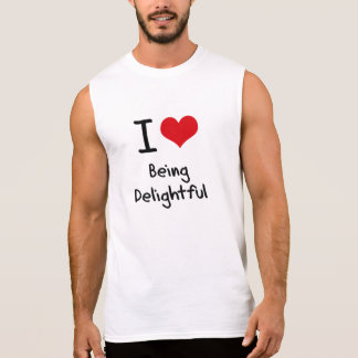 Amo el ser delicioso camiseta sin mangas