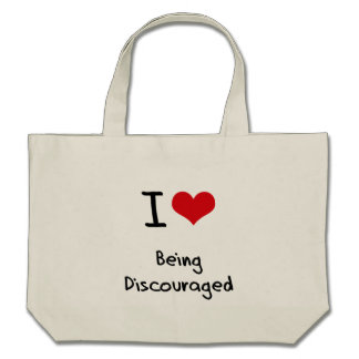 Amo el ser desalentado bolsas