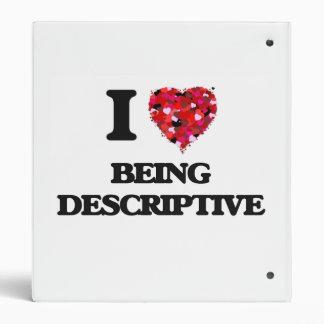 """Amo el ser descriptivo carpeta 1"""""""