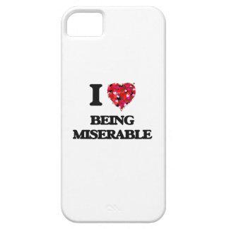 Amo el ser desgraciado iPhone 5 fundas