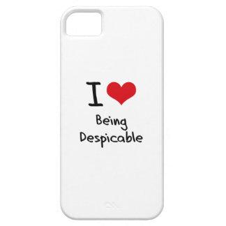 Amo el ser despreciable iPhone 5 cárcasa