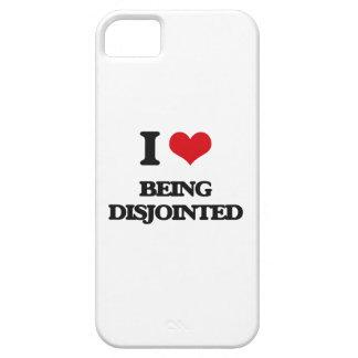 Amo el ser desunido iPhone 5 protector