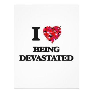 """Amo el ser devastado folleto 8.5"""" x 11"""""""
