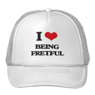 Amo el ser displicente gorras