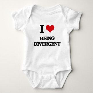 Amo el ser divergente tee shirt