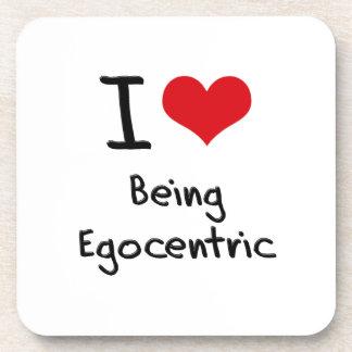 Amo el ser egocéntrico posavaso