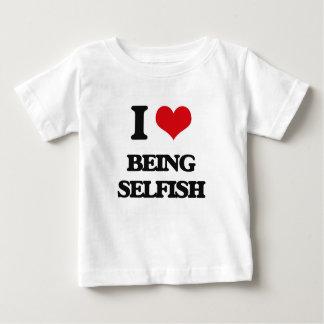 Amo el ser egoísta playeras