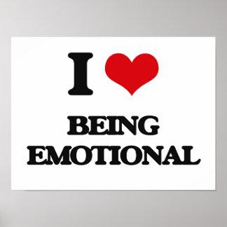 Amo el ser emocional poster