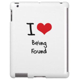 Amo el ser encontrado