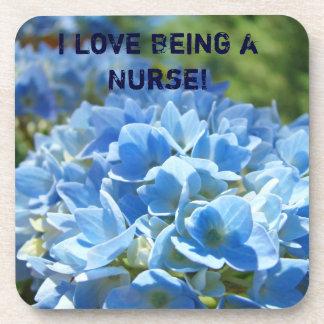 ¡Amo el ser enfermera! Hydrangeas del azul de los Posavaso