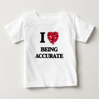 Amo el ser exacto camisas