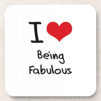 Amo el ser fabuloso posavaso